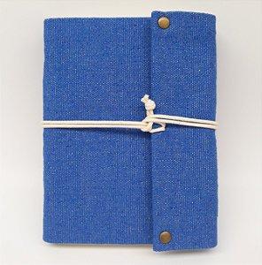 Diário em Lona Azul Royal