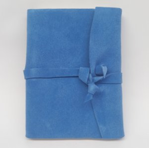 Diário em Camurça Azul