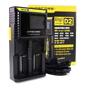 Carregador (Charger) D2 - Nitecore