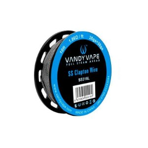 Fio SS Clapton Wire - Vandy Vape