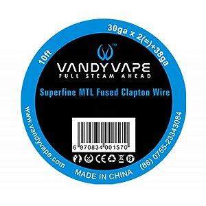 Fio Superfine MTL Fused Clapton Wire - Vandy Vape