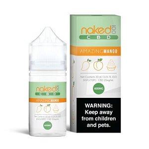Líquido Amazing Mango (CBD) - Naked 100