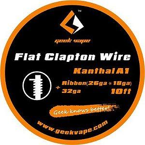 Fio Kanthal A1 - Flat Clapton Wire - 3 Metros - GeekVape
