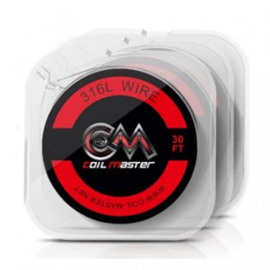 Fio SS 316L Wire - 10 Metros - Coil Master