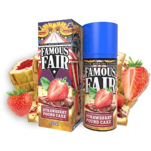 Liquido Strawberry Pound Cake - Famous Fair
