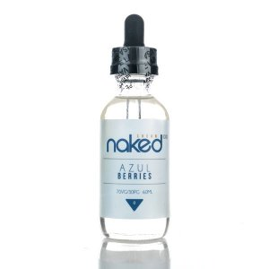 Líquido Azul Berries (Cream) - Naked 100