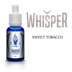 Líquido Whisper Sweet Tobacco - White Label - Halo Cigs