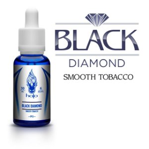 Líquido Black Diamond Smooth Tobacco - White Label - Halo Cigs