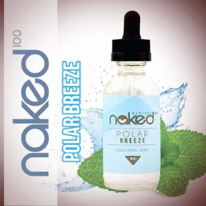 Líquido Polar Breeze (Menthol) - Naked 100