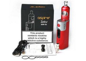 Kit Cigarro Eletronico Zelos - 50W - Aspire®