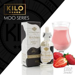 Líquido Strawberry Milk - Moo Séries - KILO
