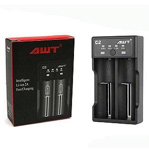 Carregador de baterias 18650 2A -  C2 - AWT