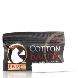 Algodão Orgânico (Cotton Organic) Bacon Prime - Wick 'N' Vape