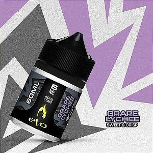 Líquido Grape Lychee - Sweet & Crisp - eVo - VENC. FEV/2020