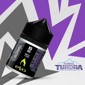 Líquido Purple Tundra - Crisp & Refreshing - eVo