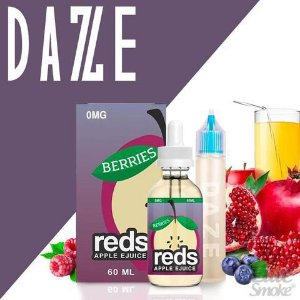 Líquido Berries - Reds Apple Ejuice - 7 DAZE
