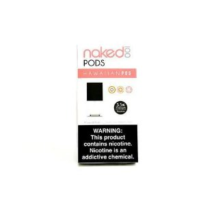 PODS (cartucho) c/ Líquidos - SaltNic / Salt Nicotine - NAKED 100