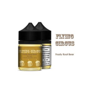 Líquido Frosty Root Beer - Sub-Ohm Salt Nic - Flying Circus
