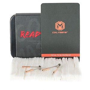 Kit Ready Box bobinas pré-construídas & Algodão  - Coil Master