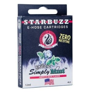 Refil Starbuzz E-Hose - Essencia - Exotic Simply Mint