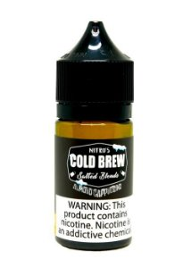 Líquido Almond Cappuccino - Coffee - Salt Nicotine - Nitro's Cold Brew