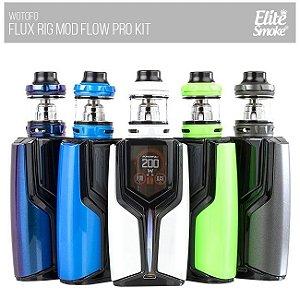 Kit Flux 200W c/ Atomizador Flow Pro - Wotofo