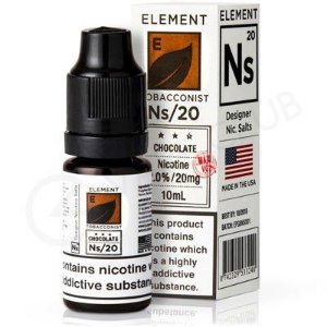 Líquido Element SALT / 35MG - Chocolate Tobacco
