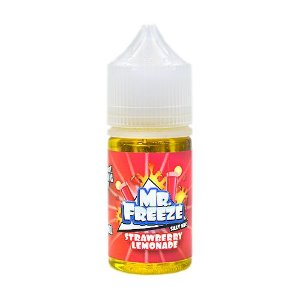 Líquido Strawberry Lemonade - SaltNic / Salt Nicotine - Mr. Freeze