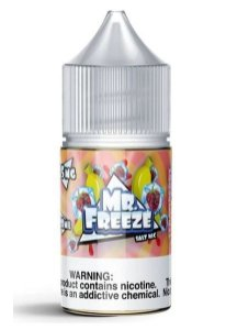 Líquido Strawberry Banana - Frost - Mr. Freeze SaltNic