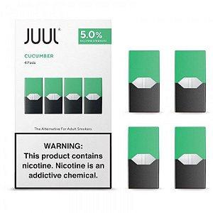 Cartucho (Pod) de Reposição (c/ Líquido) Cucumber p/ Yoop & Juul - Juul