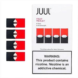 Pod c/ Líquido Fruit Medley p/ Pod System Yoop & Juul - Juul
