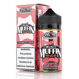 Líquido Mini Strawberry Muffin Man - SaltNic / Salt Nicotine - One Hit Wonder