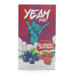 Cartucho (Pod) de Reposição (c/ Líquido) Blueberry Raspberry p/ Yoop & Juul - Yeah