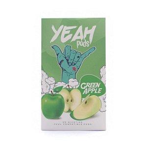 Cartucho (Pod) de Reposição (c/ Líquido) Green Apple p/ Yoop & Juul - Yeah
