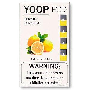 Pod c/ Líquido Lemon p/ Pod System Yoop & Juul - Yoop