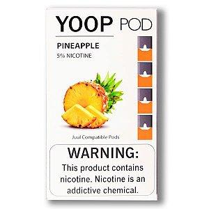 Pod c/ Líquido Pineapple p/ Pod System Yoop & Juul - Yoop