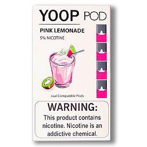 Pod c/ Líquido Pink Lemonade p/ Pod System Yoop & Juul - Yoop