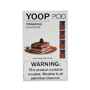 Pod c/ Líquido Tiramissu p/ Pod System Yoop & Juul - Yoop