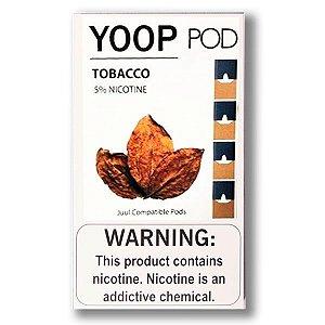 Pod c/ Líquido Tobacco p/ Pod System Yoop & Juul - Yoop