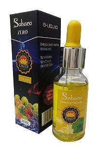 Liquido ebuzz Limão + Menta - ZERO NICOTINA - Sahara