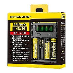 Carregador de Baterias - New i4 - Nitecore®