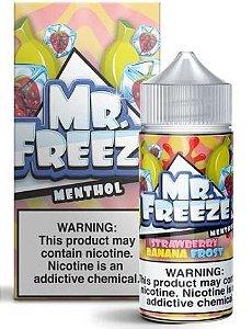 Líquido Strawberry Banana - Frost - Mr. Freeze