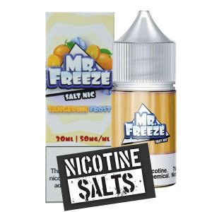 Líquido Tangerine - Frost - Mr. Freeze SaltNic