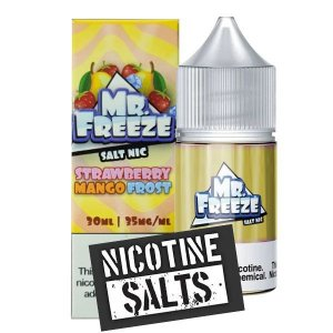 Líquido Strawberry Mango - Frost - Mr. Freeze SaltNic