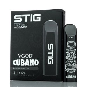 Disposable POD Device (Descartável) STIG CUBANO - VGOD
