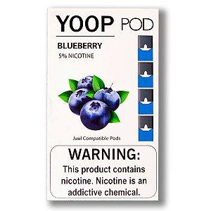 Cartucho (Pod) de Reposição (c/ Líquido) Blueberry p/ Yoop & Juul - Juul