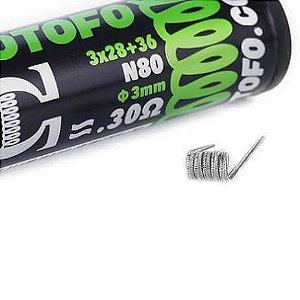 Resistências (Bobinas) Prontas N80 Alien Wire (10un) - Wotofo