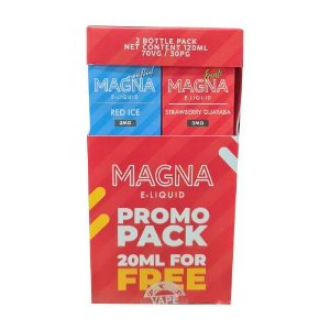 Líquido Red Ice / Strawberry Guayaba (PROMO PACK) - Magna