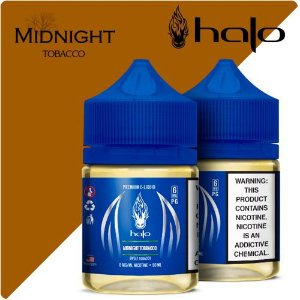Líquido Midnight Tobacco - Blue Series - Halo Purity