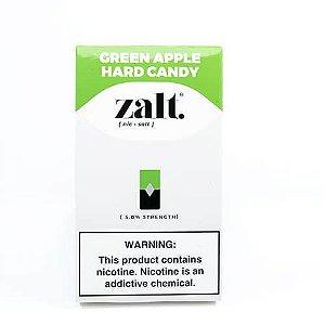 Pods C/ Líquido Green Apple Hard Candy - Zalt